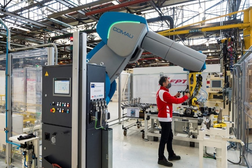 ROBOTS PARTNERING WITH HUMANS: AT FPT INDUSTRIAL FACTORY 4.0 IS ALREADY A REALITY THANKS TO COLLABORATION WITH COMAU